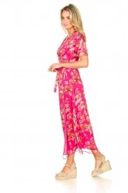 Liu Jo |  Floral maxi dress Cindy | pink  | Picture 6