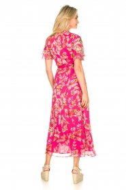 Liu Jo |  Floral maxi dress Cindy | pink  | Picture 7