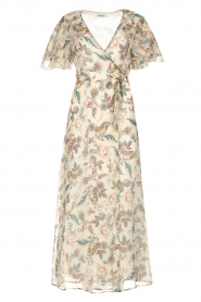 Liu Jo |  Floral maxi dress Cindy | natural  | Picture 1