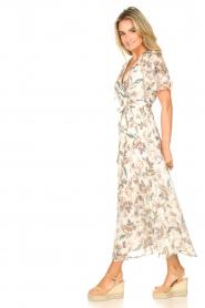 Liu Jo |  Floral maxi dress Cindy | natural  | Picture 6