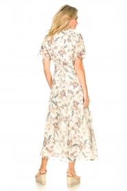 Liu Jo |  Floral maxi dress Cindy | natural  | Picture 7