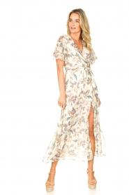 Liu Jo |  Floral maxi dress Cindy | natural  | Picture 3