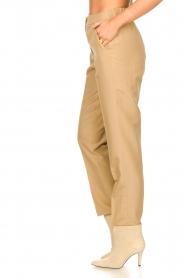Liu Jo |  Safari trousers Pam | beige  | Picture 5