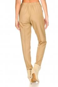 Liu Jo |  Safari trousers Pam | beige  | Picture 7