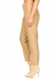 Liu Jo |  Safari trousers Pam | beige  | Picture 6