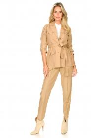 Liu Jo |  Safari trousers Pam | beige  | Picture 2
