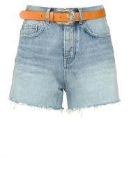 Liu Jo |  High waist denim shorts Juul | blue   | Picture 1