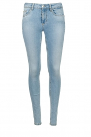 Liu Jo |  High waisted skinny jeans Joy | blue  | Picture 1
