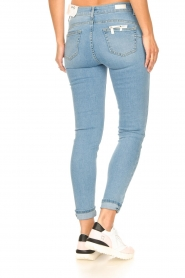 Liu Jo |  High waisted skinny jeans Joy | blue  | Picture 8