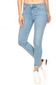 Liu Jo |  High waisted skinny jeans Joy | blue  | Picture 6