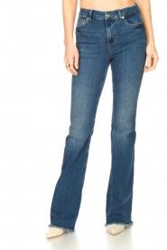 Liu Jo |  Flared jeans Jolie | blue  | Picture 6