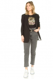 Liu Jo |  Paperbag jeans May | grey  | Picture 2