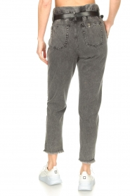 Liu Jo |  Paperbag jeans May | grey  | Picture 7