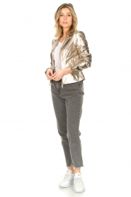 Liu Jo |  Paperbag jeans May | grey  | Picture 3
