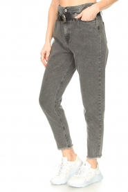 Liu Jo |  Paperbag jeans May | grey  | Picture 6