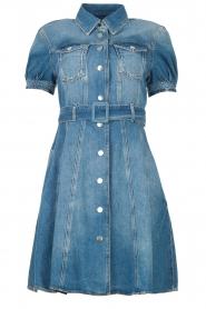 Liu Jo | Denim jurk Evi | blauw   | Afbeelding 1