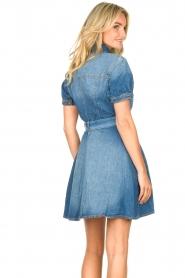 Liu Jo | Denim jurk Evi | blauw   | Afbeelding 7