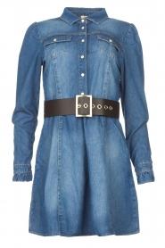 Fracomina |  Denim dress Mila | blue  | Picture 1