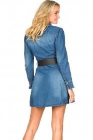 Fracomina |  Denim dress Mila | blue  | Picture 7