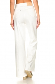 Fracomina |  High waist flare Vic | white  | Picture 8