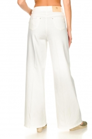 Fracomina | High waist flare Vic | wit   | Afbeelding 7
