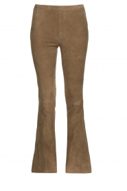 Dante 6 |  Flared suede pants Dolliman | grey  | Picture 1