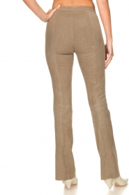 Dante 6 |  Flared suede pants Dolliman | grey  | Picture 6