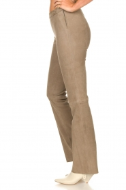 Dante 6 |  Flared suede pants Dolliman | grey  | Picture 5