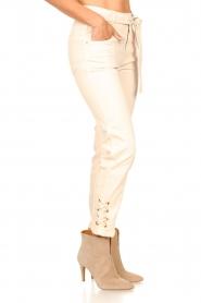 Dante 6 |  Paperbag pants Shamble | natural  | Picture 6