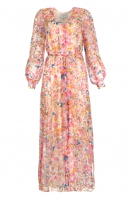 Dante 6 |  Floral maxi dress Zahava | pink  | Picture 1