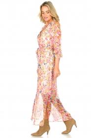 Dante 6 |  Floral maxi dress Zahava | pink  | Picture 4