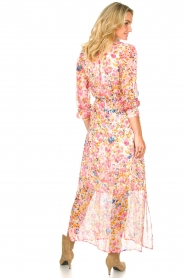 Dante 6 |  Floral maxi dress Zahava | pink  | Picture 5
