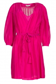 Dante 6 |  Dress with puff sleeves Alba | pink  | Picture 1