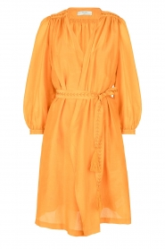 Dante 6 |  Dress with puff sleeves Alba | yellow