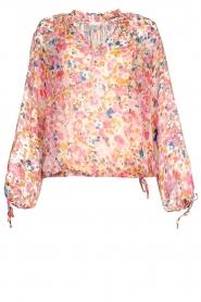 Dante 6 |  Floral blouse Ava | pink  | Picture 1