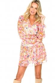 Dante 6 |  Floral blouse Ava | pink  | Picture 2