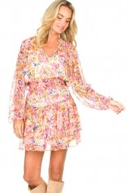 Dante 6 |  Floral blouse Ava | pink  | Picture 4