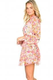 Dante 6 |  Floral blouse Ava | pink  | Picture 5