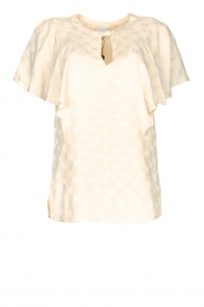 Top with butterfly sleeve Lily | natural