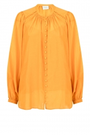 Dante 6 |  Blouse with puff sleeves Ginni | orange  | Picture 1