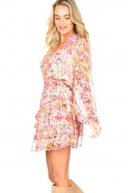 Dante 6 |  Floral skirt Wonderous | pink   | Picture 6