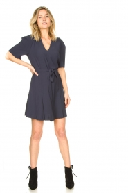 Dante 6 :  Dress with tie waist detail Rebel | blue - img3