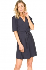 Dante 6 :  Dress with tie waist detail Rebel | blue - img5