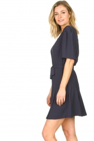 Dante 6 :  Dress with tie waist detail Rebel | blue - img6