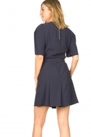 Dante 6 :  Dress with tie waist detail Rebel | blue - img7