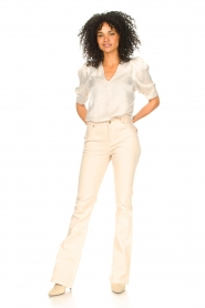 Dante 6 |  Top with puff sleeves Cammie | natural  | Picture 3