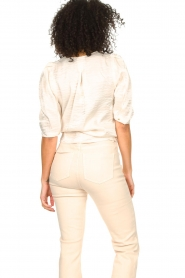Dante 6 |  Top with puff sleeves Cammie | natural  | Picture 6