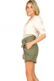 Dante 6 |  Top with puff sleeves Cammie | natural  | Picture 5