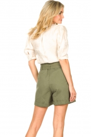 Dante 6 |  Top with puff sleeves Cammie | natural  | Picture 7