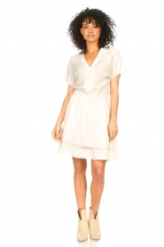 Dante 6 |  Dress with broderie details Leisure | natural  | Picture 3
